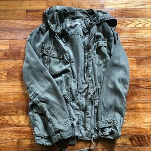 Max Jeans Army Green Jacket